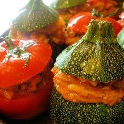 Petits Farcis - Provençe Stuffed Baked Vegetables recipe