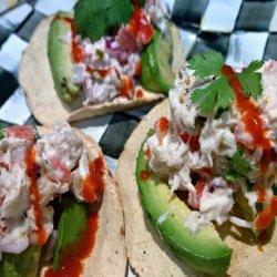 Lump Crab Meat Tostadas recipe
