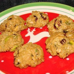 Oatmeal Cookies With Apricots and Pistachios recipe
