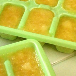 Ginger Ale Ice Cubes recipe
