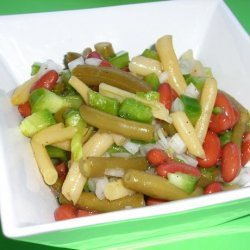 Mom's Sweet and Sour Bean Salad recipe