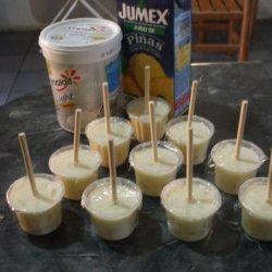 Pineapple Pops recipe