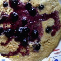 Oatmeal Blueberry Pancakes recipe