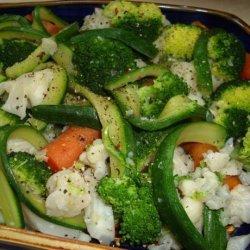Steamed Vegetable Platter (Gronsaksfat) recipe