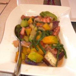 Pinakbet (Filipino Meat Veggie Stew With Shrimp Paste) recipe