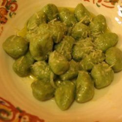 Spinach and Ricotta Cheese Gnocchi recipe