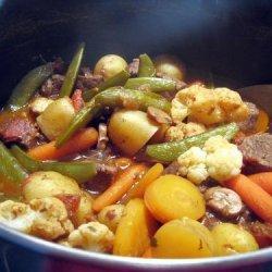 Beef & Vegetables recipe