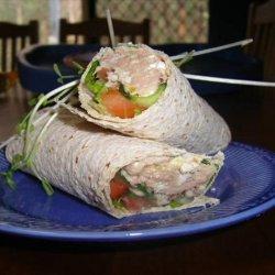 Cottage Cheese Tuna & Corn Relish Wraps Aust. Ww 5pts recipe