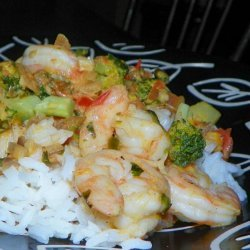 Spicy Shrimp in Coconut Sauce recipe