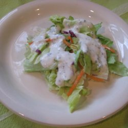 Low Fat Buttermilk Basil Salad Dressing recipe