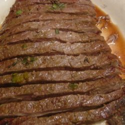 Mary's Grilled Flank Steak recipe