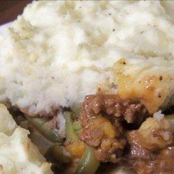 Meat & Green Bean Casserole recipe