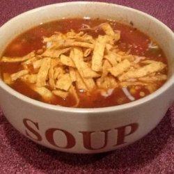 Easy Incredible Taco Soup recipe
