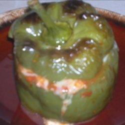 Picadillo Stuffed Bell Peppers recipe