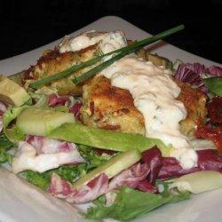 Salmon and Cod Fish Cakes recipe
