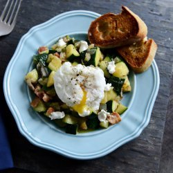 Zucchini and Eggs recipe