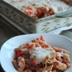 Chicken With Red Pepper Sauce recipe