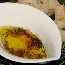Crisco Herbed Parmesan Dipping Oil recipe