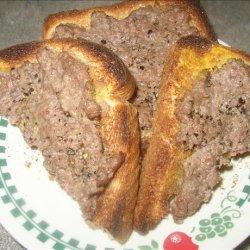 Hamburger on Toast recipe