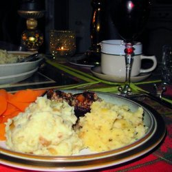 Skirlie Mash - Scottish Mashed Potatoes With Onions and Oats recipe