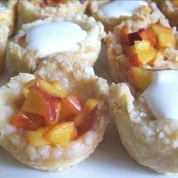 Fresh Peach Tarts recipe