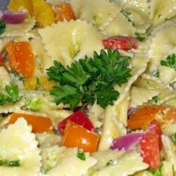 Pasta Salad With Green Onion Dressing recipe