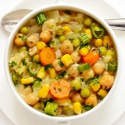 Chickpea and Cabbage Soup recipe