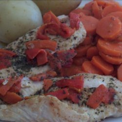 Light Chicken and Capsicum (For the BBQ, Grill or Oven) recipe