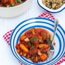 Moroccan Meatball Stew recipe