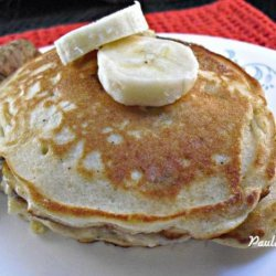 Easy Fluffy Gluten Free Banana Pancakes recipe