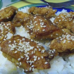 Honey Chicken Teriyaki recipe