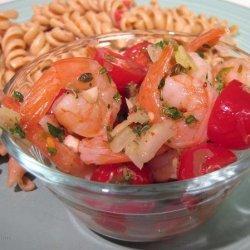 Cat Cora's Greek Shrimp and Caper Salad recipe