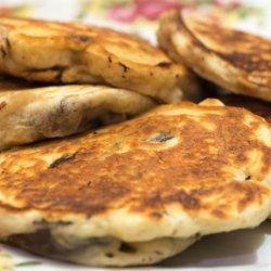 Wild Mushroom Pancakes recipe