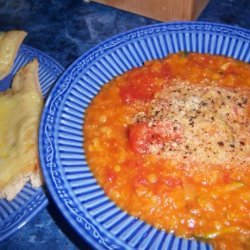 Red Lentil and Tomato Soup recipe