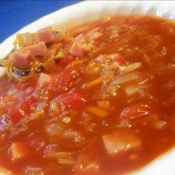 Tomato Ham Soup recipe
