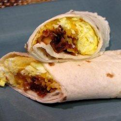 Make Ahead Breakfast Wraps (Oamc) recipe