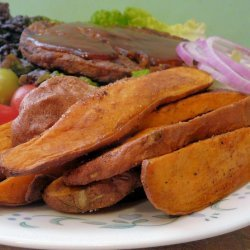 Cajun Spiced Sweet Potato Wedges recipe