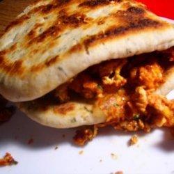 Egg Masala Sandwich recipe