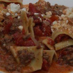 Skillet Pastitsio - America's Test Kitchen recipe
