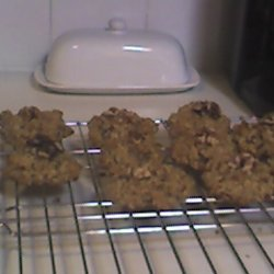 Healthy but Tasty Chocolate Chip Oatmeal Cookies recipe