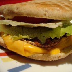 Grilled Portabella Mushroom Burgers recipe