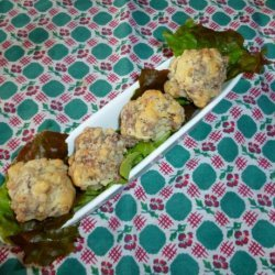 Cheese and Sausage Balls recipe