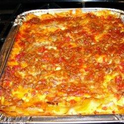 Elaine's Lasagna recipe