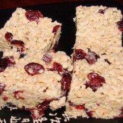 Cranberry Rice Krispies Squares recipe