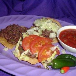 Mexican Tostados recipe