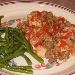 Chicken and Sausage Skillet Supper recipe