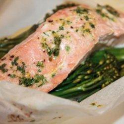 Salmon - Potato Parcels recipe
