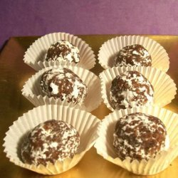 Apricot Almond Chocolate Balls recipe