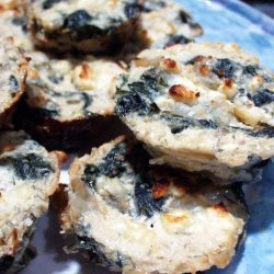 Mini Spinach and Cottage Cheese Pies recipe