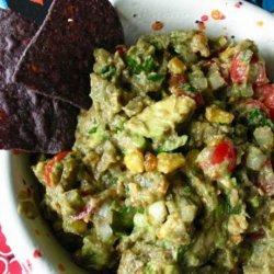 Roasted Corn Guacamole Dip recipe